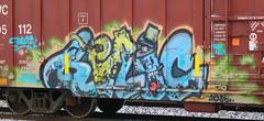 RELIC, Chapman, Neenah, 18 Feb 18 (kkaf) Tags: chapman neenah graffiti relic