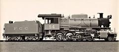 Ferrocarril Central (Peru) - FCC 2-8-0 steam locomotive Nr. 54 (Beyer Peacock Locomotive Works, Manchester-Gorton 7222-7 / 1946) (HISTORICAL RAILWAY IMAGES) Tags: steam locomotive bp beyerpeacock manchester gorton peru fcc ferrocarril