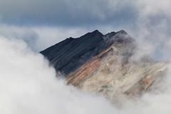Mists, light, and shadow (RPahre) Tags: porphyrymountain porphyry wrangellstelias wrangellsteliasnationalparkandpreserve alaska mountain mists cloud