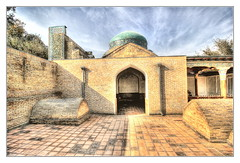 Qoʻqon UZ - Dakhmai-Shokhon 02 (Daniel Mennerich) Tags: silk road uzbekistan kokand history architecture hdr qoʻqon
