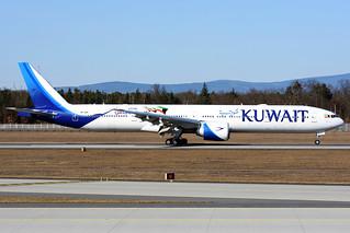 9K-AOK   Boeing 777-369ER   Kuwait Airways