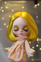 Yellow girl :D (missdrumu) Tags: 2017 nines blythe blythecustom customblythe doll missdrumu dollcustom cute customdoll ooak sweet originalblythe takara kid girl artist yellowhair