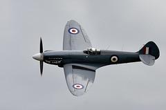 Spitfire (Bernie Condon) Tags: vickers supermarine spitfire warplane fighter raf royalairforce fightercommand ww2 battleofbritian bbmf memorialflight military preserved vintage