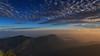 Adams Peak Sunrise 1 (RoosterMan64) Tags: clouds landscape longexposure mountians srilanka sripadaya sunrise