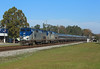 58 + 6, Folkston, 25 Nov 2017 (Mr Joseph Bloggs) Tags: amtrak 97 silver meteor new york miami georgia folkston train treno bahn railway railroad 58 6 ge general electric gep42dc