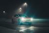 XV Lights (Burak Kebapci) Tags: lettherebelight flickrfriday friday flickr lights night image asphalt road street dark fog car vehicle subaru japanese japan suv istanbul city turkey tr