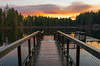 Sunrise on the Dock (s.d.sea) Tags: sunrise sun pnw pacificnorthwest yellow lake klahanie issaquah sammamish washingtonstate washington outdoors outside water colorful colors pentax k5iis wide angle dock perspective seattle eastside winter