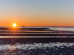 CUX 012018 32 (U. Heinze) Tags: cuxhaven sonnenuntergang nordsee nature elbe olympus