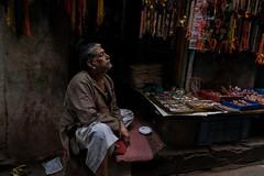 Varanasi. Uttar Pradesh. India. (Tito Dalmau) Tags: portraiy man varanasi uttar pradesh india