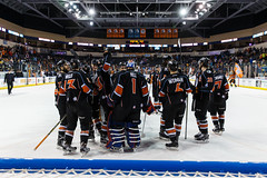 "Kansas City Mavericks vs. Toledo Walleye, January 21, 2018, Silverstein Eye Centers Arena, Independence, Missouri.  Photo: © John Howe / Howe Creative Photography, all rights reserved 2018. • <a style=""font-size:0.8em;"" href=""http://www.flickr.com/photos/134016632@N02/24969554527/"" target=""_blank"">View on Flickr</a>"