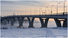 2018-01-23 SPb, Finland gulf, frost 186 (Mandir Prem) Tags: outdoor places stpetersburg brige city colour finlandgulf frost frozen horizon ice landscape nature postcard russia saintpetersburg snow sunset travel tree winter