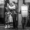 Shooting a Selfie (FotoFling Scotland) Tags: buskers edinburgh edinburghfestivalfringe royalmile august highstreet kilt performer tourist fotoflingscotland