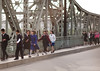 North Korean people crossing a bridge, Pyongan Province, Pyongyang, North Korea (Eric Lafforgue) Tags: adults adultsonly architecture asia bridge capitalcities city citylife colourimage communism day dictatorship dprk fulllength groupofpeople horizontal men metal morning nkorea1877 northkorea outdoors pyongyang road street teenagegirls town women pyonganprovince 北朝鮮 북한 朝鮮民主主義人民共和国 조선 coreadelnorte coréedunord coréiadonorte coreiadonorte 조선민주주의인민공화국 เกาหลีเหนือ קוריאההצפונית koreapółnocna koreautara kuzeykore nordkorea північнакорея севернакореја севернакорея severníkorea βόρειακορέα