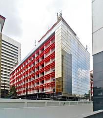 Telkom Gambir (Everyone Sinks Starco (using album)) Tags: jakarta building gedung architecture arsitektur office kantor