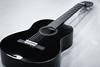 Kitara / Guitar (Tuomo Lindfors) Tags: akustinen kitara acoustic guitar yamaha c40 dxo filmpack blackwhite soitin intrument