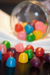 sucreries colorées (karine_cattier) Tags: 7daysofshooting rounded colorfulthursday bonbons bokeh dof smileonsaturday colorfulcandy