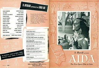 Aida (1953-R'54 / I.F.E. Releasing Corp.) front & back covers