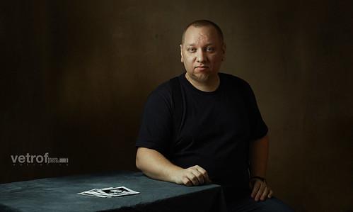 Виталий Ветров, Автопортрет.