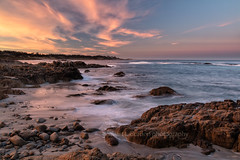 Surf and Sky (chasingthelight10) Tags: events photography travel landscapes beaches nature ocean rockformations sunrise sunrises places california pebblebeach bigsur
