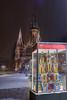 18-02_DSCF8055 (Jacek P.) Tags: poland krakow podgórze noc night zima winter snow snieg szopka