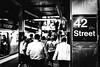 42 Street (TS_1000) Tags: ny nyc newyork newyorkcity mta metro platform station 42street 42 st 42st leica q summilux 28mm bnw sw blackandwhitephotography schwarzweis travel manhattan street streetphotography ubahn subway