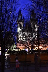 Night View Town Square Prague (davidsharp159) Tags: prague czechrepublic night nightshot nightshots
