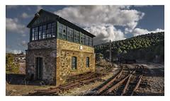 ZARANDAS (champollion-10) Tags: tracks railway train abandoned old forgotten iron decaded steam ngc nwn