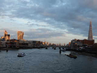 View downriver from Blackfriars Station