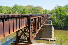 Times Beach Bridge #6 (tim_1522) Tags: railroad railfanning rail missouri mo bnsf cuba sub subdivision burlingtonnorthernsantafe meramecriver timesbeach bridge steel water river