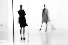 untitled by Blue Celt - Elle prenait la pose, la lumière diluait sa silhouette dans l'espace, donnant une impression de ralentissant de ses mouvements, mais ce n'était q'une impression, car la réalité était ailleurs ...