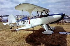 G-AYMA   Stolp SA.300 Starduster Too [PFA 035-10076] Leicester~G 04/07/1981 (raybarber2) Tags: approachtodo biplane cnpfa03510076 egbg flickr gayma pfa03510076 single slide ukcivil