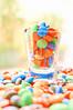 A glass of rainbow (Jolie Candy ♫) Tags: sony chocolate rainbow mm delight