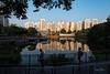 Golden Walks (Samsul Adam) Tags: hour golden apartments flats lake sua pang park pangsua panjang bukit bukitpanjang f4 1635mm d800 nikon singapore
