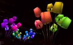 Lámparas Arco Iris (Isaki ) Tags: isaki canoneos5dmarkiii 1635f28lii llumbcnpoblenou barcelona glòries nocturna lámparas colores arcoiris