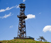 Hat Point Fire Lookout (maytag97) Tags: maytag97 nikon d750 firewatch tower viewing platform oregon northeast wood structure hat national point fire summer sky travel outdoors old america overlook lookout