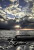 tormenta - Strom (ibzsierra) Tags: ormente strom nube cloud sol sum ibiza eivissa baleares canon 7d 1740usmsea mer playa beach