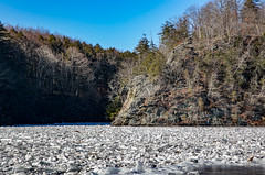 Ice floes (RichyRambo) Tags: 2018 ice winter connecticut newmilford loversleap housatonicriver