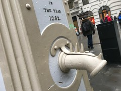 Cornhill Pump spout (Matt From London) Tags: cornhill pump spout london well