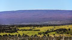 Mauna Loa (wyojones) Tags: hawaii hawaiivolcanoesnationalpark bigisland maunaloa mamalahoahighway statehiway11 volcano faults longmountain hawaiian shieldvolcano snow snowcap wyojones np