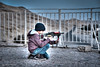 My little sniper...! (hanymamdouh) Tags: mountaincafe hdr tur portrait egypt kid adhamhanymamdouh