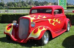 11th Annual Cal-Rods Car Show (USautos98) Tags: 1935 chevrolet chevy coupe hotrod streetrod custom flames