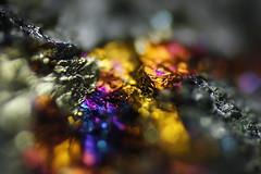 Coppersulfide (Henri Koskinen) Tags: chalcopyrote bornite copper ore mineral kupari kuparikiisu kalkopyriitti sulfide peacock hällinmäki virtasalmi finland 03022018