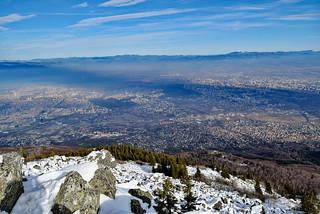 View from Kamen Del peak, Vitosha mountain DSC_0594