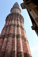 qutub minar (kexi) Tags: delhi india asia qutubminar tower minaret sandstone vertical tall monument history red canon february 2017 architecture instantfave