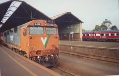 N456 Geelong (tommyg1994) Tags: west coast railway wcr emd b t x a s n class vline warrnambool geelong b61 b65 t369 x41 s300 s311 s302 b76 a71 pcp bz acz bs brs excursion train australia victoria freight fa pco pcj