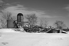 Fallen Barn (rcss2800) Tags: barn farm