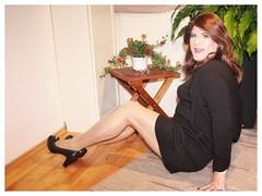 Weekend is coming.... (Josephine Nyl) Tags: cd crossdresser strumpfhosen pantyhose tights hosiery nylon nyl