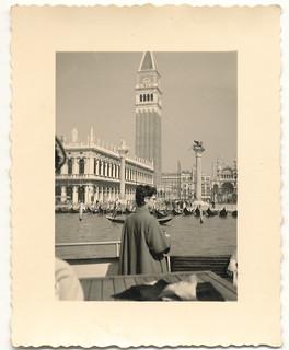 Venedig - ich habe auf dem Flohmarkt eine Blechschachtel mit alten Fotos von Venedig gekauft