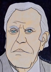 Billy Graham (1918-2018) (sealwhiskerz) Tags: billy graham comic portrait drawing