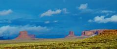 Monument Valley (2015) #1 (jimsawthat) Tags: sky clouds panorama rural arizona navajo monumentvalley
